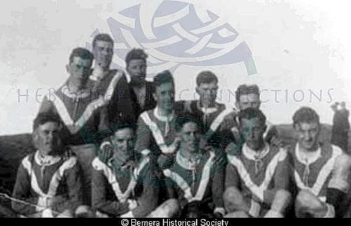 Bernera football team