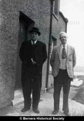 Two gentlemen from 11 & 14 Kirkibost