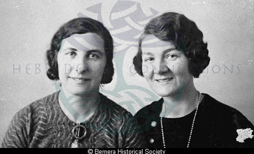 Kate Mary Maciver & Gena Macdonald, Bernera