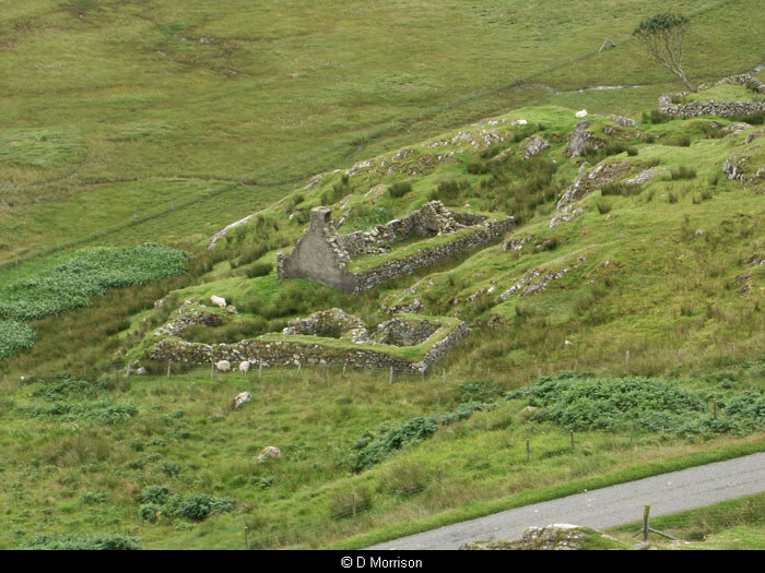 Ruins at Calbost