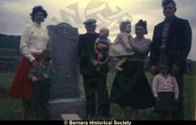 Group at Bosta cemetery <a href='/image-details/83667'>(more info)</a>