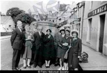 Wedding party in Stornoway <a href='/image-details/83841'>(more info)</a>
