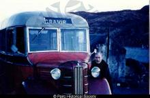 John Murdo with his bus <a href='/image-details/84044'>(more info)</a>