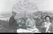 Picnic on the summit of Roineval <a href='/image-details/87573'>(more info)</a>