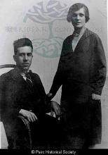 Lemreway Schoolmaster and his wife <a href='/image-details/86799'>(more info)</a>