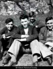 Four young men from Laxay <a href='/image-details/89264'>(more info)</a>