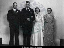 Marriage of Mary Macaulay Macarthur Maciver and John Murdo Macdonald <a href='/image-details/85031'>(more info)</a>