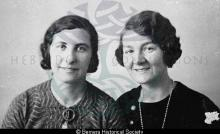 Kate Mary Maciver & Gena Macdonald, Bernera <a href='/image-details/85046'>(more info)</a>