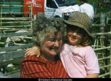 Katag Macdonald, 26 Laxay and her grand-daughter <a href='/image-details/85718'>(more info)</a>