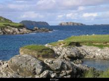 Berisay and Old Hill from Pabbay <a href='/image-details/89464'>(more info)</a>