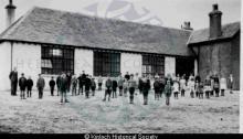 Knockiandue School playground, 1938 <a href='/image-details/86560'>(more info)</a>