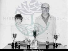 Kenneth Walker and his son Bobby, 15 Keose Glebe <a href='/image-details/85617'>(more info)</a>