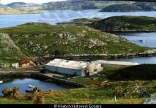 Former Alginate Industries factory at Eilean Tabhaigh, Keose <a href='/image-details/85518'>(more info)</a>