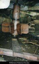 Barrel and blades in Norse Mill <a href='/image-details/85709'>(more info)</a>