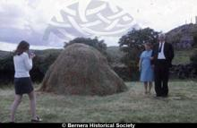 Marietta Macdonald, 14 Kirkibost and her parents <a href='/image-details/83581'>(more info)</a>