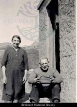 Mr & Mrs Hector Macdonald, 18 Laxay <a href='/image-details/86533'>(more info)</a>