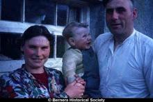 Catherine Mackay and Norman Macdonald with their son, 14 Kirkibost <a href='/image-details/83577'>(more info)</a>