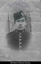 Angus Mackenzie, 6 Laxay whilst serving with the Camerons <a href='/image-details/85734'>(more info)</a>