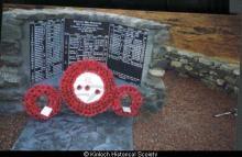 Kinloch War Memorial <a href='/image-details/89187'>(more info)</a>