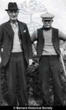 Two  men from 11 and 6 Kirkibost <a href='/image-details/83697'>(more info)</a>