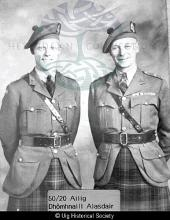 Alec Maclennan and his son Donald <a href='/image-details/88485'>(more info)</a>