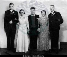 Marriage of Mary Macaulay Macarthur Maciver and John Murdo Macdonald <a href='/image-details/85030'>(more info)</a>