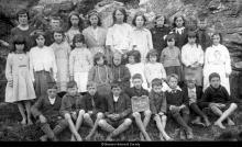 Crulivig school pupils, 1923 <a href='/image-details/89586'>(more info)</a>
