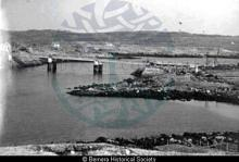 Bernera Bridge under construction from 2 Earshader <a href='/image-details/82981'>(more info)</a>